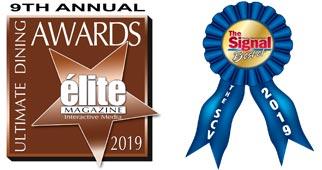 2019 Signal & Ultimate Dining Awards Logos